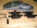 Brzdové kotúče + platničky predné BMW E46 330, XI, XD, 4WD