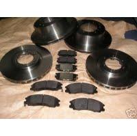 4 Brzdové kotúče+ 2 x Brzdové platničky pre Hyundai Terracan