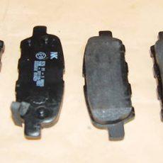 Brzdové platničky zadná náprava Nissan Murano 3,5Li 4x4 ab od: 03.05