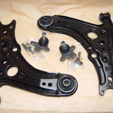 2x rameno komplet predná náprava VW Polo 6N1/N2+Lupo 6X1