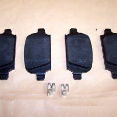 1x brzdové platničky Opel Corsa C+ Combo zadná náprava