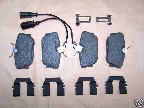 Brzdové platničky zadná náprava VW T4 od: 90-03
