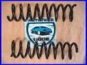 2x pružiny přední Mercedes R170 200 r.v. 09.96-03.00