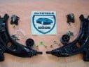 2x rameno kompletné predné VW Fox + VW Polo (9N_)