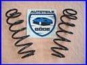 2x pružiny zadné Audi A2 od: 02.00-08.05