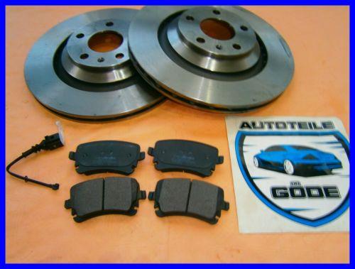Brzdná sada zadná náprava Audi A6 4F2 od: 2004-2011