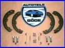 Brzdové čelisti zadní se sadou pružin Mercedes CLS C219 od rv 10.2004