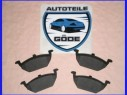 Brzdové destičky přední VW Golf VI
