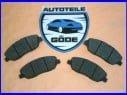 Brzdové platničky predné Hyundai Santa Fe I + II SM CM