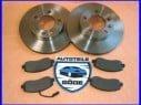 Brzdové kotúče + platničky predná náprava Opel Movano B