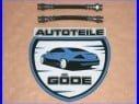 2x brzdová hadice zadní VW Golf III od r.v. 10.1991