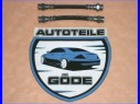 2x brzdová hadica zadná VW Golf III od r.v. 10.1991