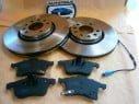 Brzdové kotúče + brzdové platničky predné Opel Zafira B