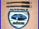 2x brzdová hadice zadní Audi 80 8C, B4