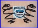 2x pružiny zadné Audi A6 Avant od 12.1997-01.2005