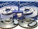 Brzdové kotúče + platničky predná náprava Porsche Panamera
