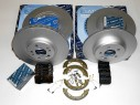 MERCEDES ML 270 CDI 163 - ORIGINAL Meyle BRZDY KIT SET predné + zadné