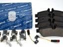 Brzdové platničky zadné Meyle MERCEDES SPRINTER 906 VW CRAFTER