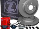 Brzdná sada ZIMMERMANN komplet predná + zadná BMW X3 (E83) xDrive20d