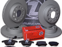 Brzdná sada ZIMMERMANN predná + zadná VW Caddy III Kombi 1,9 TDI