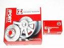 Brzdové kotúče + platničky predné ZIMMERMANN ALFA ROMEO 166, 2,5 + 3,0 V6 -