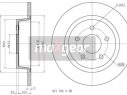 279,8mm Voll für FORD C-MAX IIGRAND C-MAXKUGA II