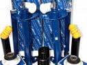 4x tlmiče plynové Meyle predná + zadná náprava BMW 3er E36