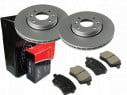Brzdové kotúče + platničky predná náprava Maxgear NISSAN MICRA K12