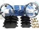 Brzdové platničky komplet predné + zadné Meyle MINI R56 ONE COOPER D