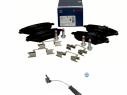 Brzdové platničky predné Bosch MERCEDES GLK X204