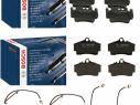 Brzdové platničky predné + zadné Bosch PORSCHE 911 996