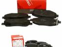 Brzdové platničky predné + zadné TRW TOYOTA AVENSIS T25